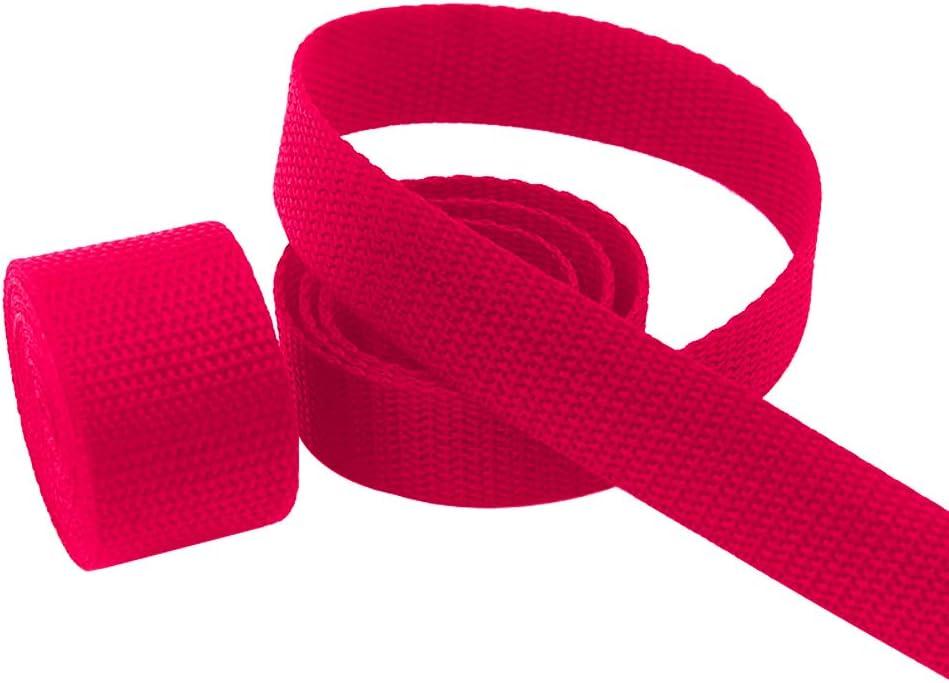 Black SourceTon Heavyweight Polypropylene Webbing Red 1 Inch by/10 Yard /& 20 Pieces Plastic Triglide Slides Red Tri-Glide Slides Heavy Duty Poly Strapping for Outdoor DIY Gear Repair