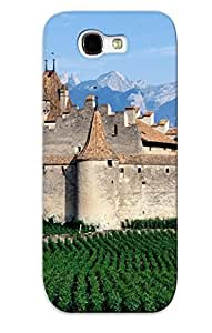 Durable Defender Case For Galaxy Note 2 Tpu Cover(chateau Daigle, Switzerland )