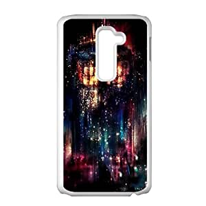 Abstract night graffitti Cell Phone Case for LG G2