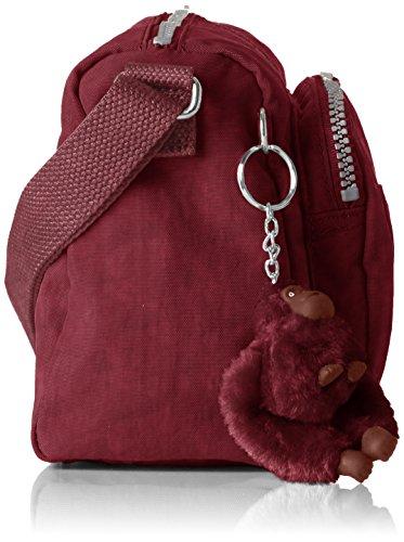 5x23x15 cm 13 Crimson Reth Cross Bag B Kipling H S Body T Women's 5 x Rot BgwqzP