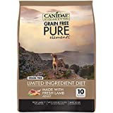 CANIDAE Grain Free PURE Elements Dog Dry Formula with Fresh Lamb, 12 lbs