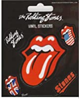 Rolling Stones Aufkleber Zunge