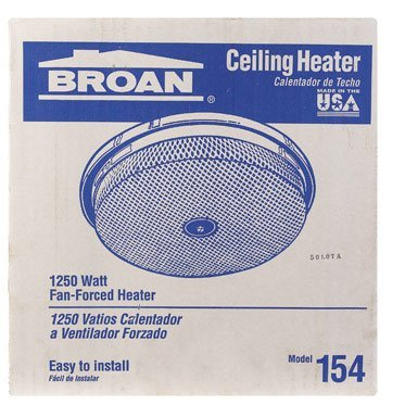 Nutone 154 Ceiling Heater