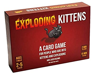 Exploding Kittens: A Card Game About Kittens and Explosions and Sometimes Goats by Exploding Kittens LLC