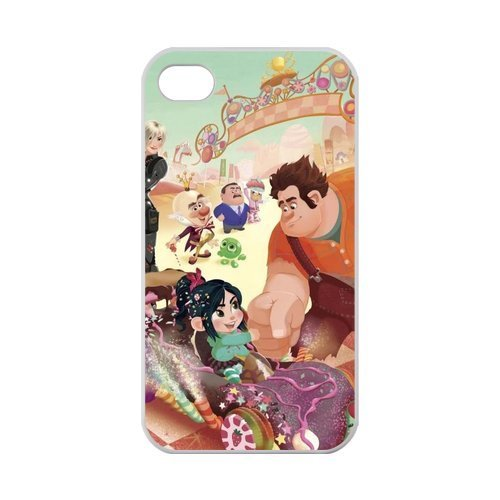 [Zyhome iPhone 4,4S Cartoon Wreck-it Ralph Vanellope Case for iPhone 4,4S 100% TPU (Laser] (Wreck It Ralph Costume For Girls)