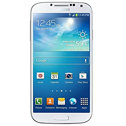 Unlocked Samsung Galaxy S4 Sgh I337m Google Android Frost White