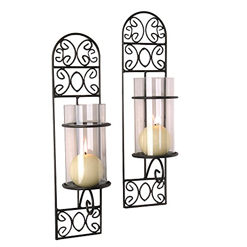 Madeira Candle Sconce - Set of 2