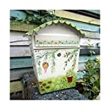 classical villa mailbox Pastoral retro wall letter box Waterproof outdoor Thicker Post mailbox with lock farmhouse style