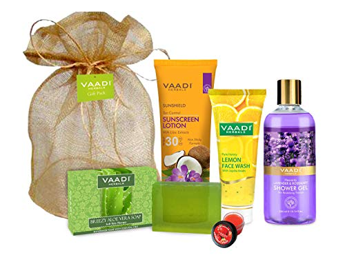 Vaadi Herbals All Purpose Complete Skin Care Travel Kit
