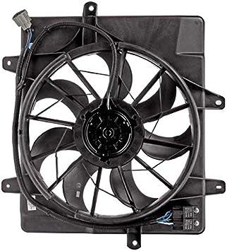 apdty 731163 Radiador de refrigeración ventilador montaje para 2006 – 2010 PT Cruiser sin turbo &