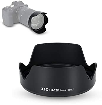 Reversible Lens Hood Shade for Canon RF 24-240mm f//4-6.3 is USM Lens on Canon EOS RP /& R Replace Canon EW-78F Hood Tulip Flower Design