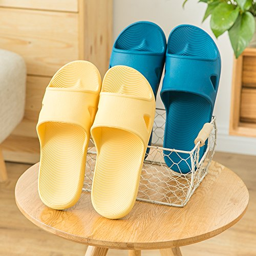 amanti da piscina antislittamento YMFIE morbida home Blue bagno Doccia scarpe scarpe suola schiuma sandali gPx8wtq8