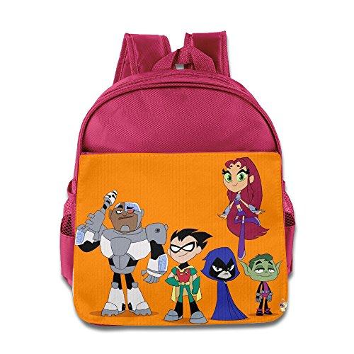 Teen Titans GO Cute Kids School Backpack Bag
