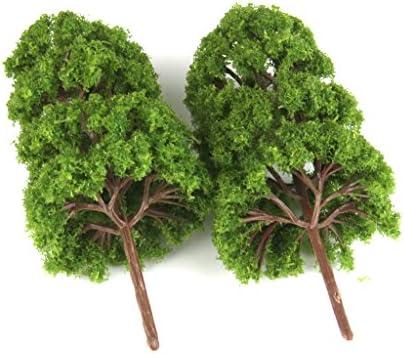 freneci 1/75 モデルツリー 杉 松 樹木模型 木 鉢植え用 鉄道模型 風景 モデル ジオラマ 建築模型 12.5cm 10個入