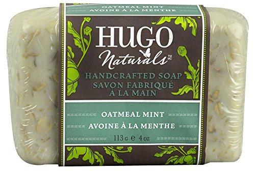 Hugo Naturals Bar Soap, Oatmeal Mint, 4 oz.