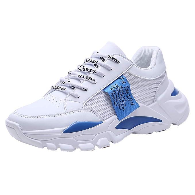 Amazon Com Chunky Sneakers For Men の 2019 Wf New White