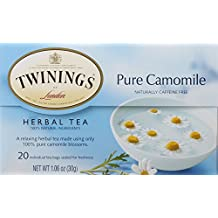 Twinings Pure Chamomile Herbal Tea, 20 Count
