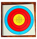 ASeeker 20Pcs Archery Semicircular Target Paper Arrow Targets Shooting Accessories, 16 x 16inch, Ideal for Match and Daily Practice Use Outdoor Shooting Practice Targets