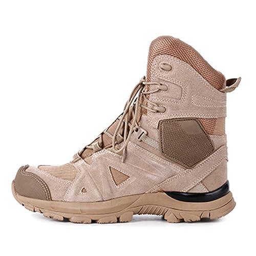 Botas Hombres Tactical Martin Botas Chukka Botas Altas Botines De Nieve Gamuza Botas De Trabajo Botas con Cordones: Amazon.es: Zapatos y complementos