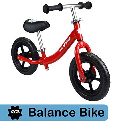 Ace of Play Light Weight Aluminum Balance Bike (Red)