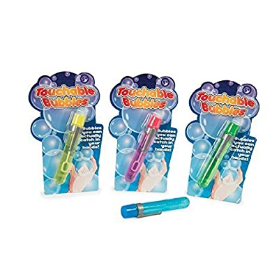 Funtime Bubbles TOUCHABLE Bubbles Bubbles You Can Hold in Your Hands: Toys & Games