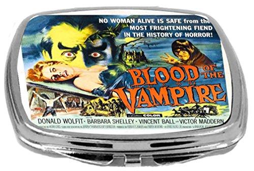 Rikki Knight Compact Mirror, Vintage Movie Posters Art Bl...