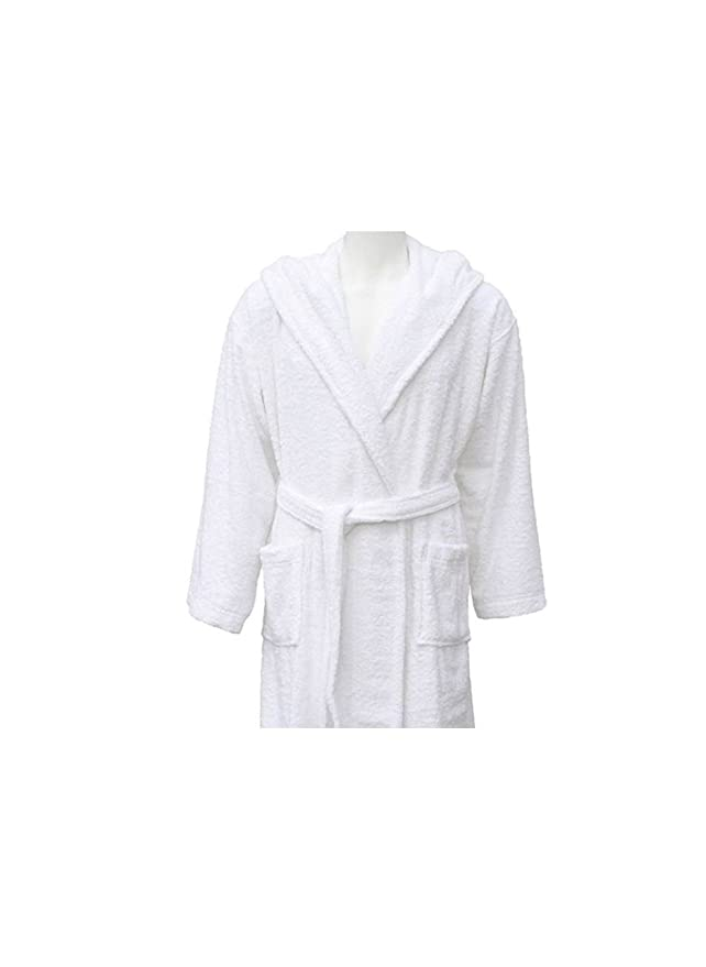 Shumaxx Mens Ladies Bathrobe Dressing Gown Combed Egyptian Cotton ...
