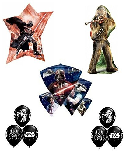 Star Wars Deluxe Birthday Party Balloon Bundle ()