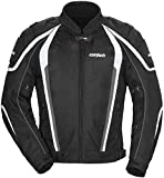 Cortech GX Sport Air 4.0 Adult Mesh Motorcycle Jacket - Black / Large