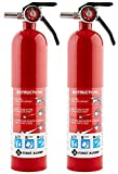 First Alert Rechargable Standard Home Fire Extinguisher (Pack of 2)