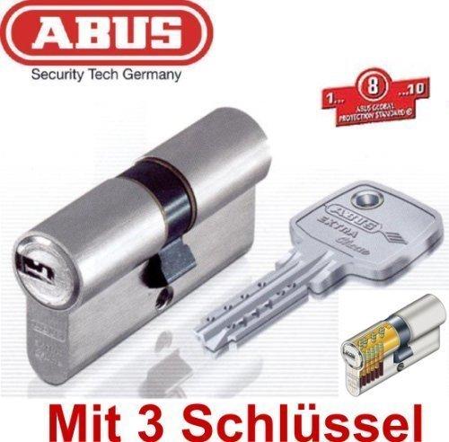 ABUS EC750 Extra Classe - Bombín cilíndrico de doble embrague (50/60 mm, con 3 llaves): Amazon.es: Bricolaje y herramientas