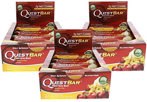 Nutrition Pie - Quest Nutrition Quest Protein Bar Apple Pie (pack of 3)