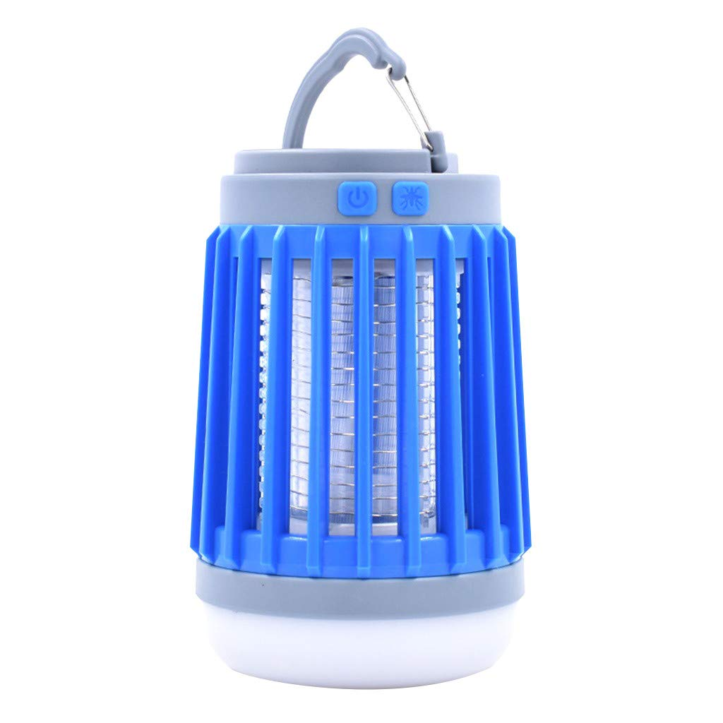 Portable Compact Camping Gear For Home /& Outdoors. ERAVSOW Bug Zapper /& LED Camping Lantern /& flashlight 3-in-1 Waterproof Rechargeable Mosquito Killer