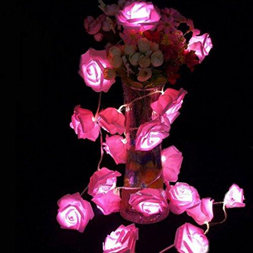 Pink Rose Night Light - 3