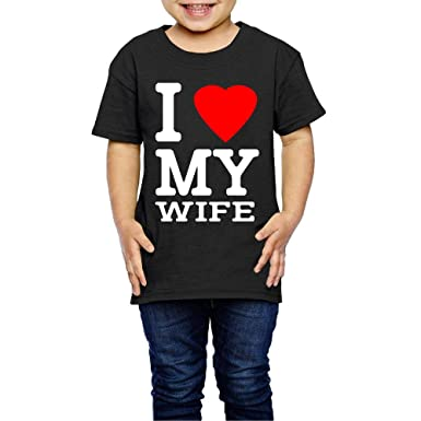 XYMYFC-E Wifey 2-6 Years Old Children Short Sleeve T Shirts