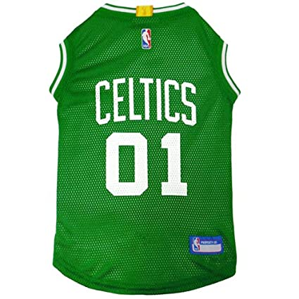 Amazon.com   NBA BOSTON CELTICS DOG Jersey 9b10d0bf481d