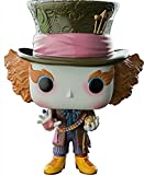 Disney Mad Hatter Alice in Wonderland Tim Burton Blu Ray + DVD & EXLUSIVE Mad Hatter #204 Funko Pop! Figure from Alice through the Looking Glass