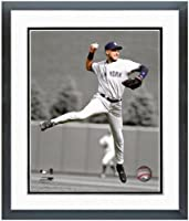 """Derek Jeter New York Yankees MLB Spotlight Photo (Size: 12.5"""" x 15.5"""") Framed"""