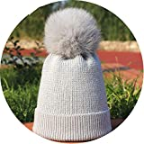 Best COLEMAN Baseball Hats - Noon-Sunshine∩ Ladies Pompom Knit Beanies Hat Winter Woman's Review