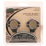 WEAVER 49213 WEAVER 49213 Grand Slam 1 .22 High Matte Rings