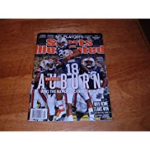 Auburn War Eagles & Cam Newton Win the BCS National Championship-Sports Illustrated, January 17, 2011 mint-condition, newstand issue. No flaws.