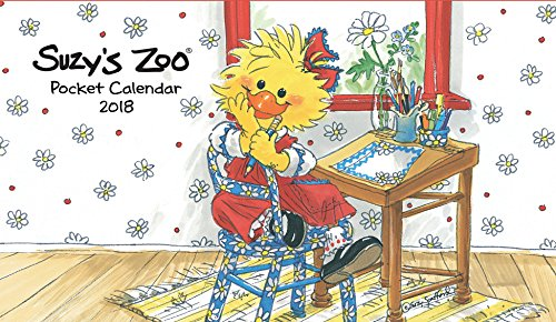 2018 Suzy's Zoo Pocket Calendar (4x7) (Zoo Calendar Suzys)