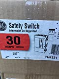 General Electric ge TH4321 Heavy Duty Fusible Safety Switch 30 Amp | 240V