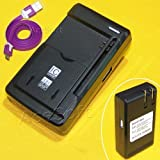 New Accessory AT&T LG Phoenix 2 K371 Universal Battery Charger Dock Home External Travel Micro USB Sync Data Cable From USA