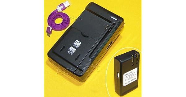Amazon.com: teléfono celular Universal Cargador de batería ...