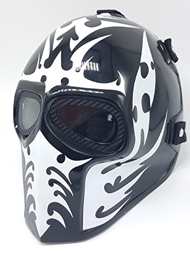 [Invader King Army of Two Airsoft Mask Protective Gear Outdoor Sport Fancy Party Ghost Masks Bb Gun] (Daredevil Costumes Replica)