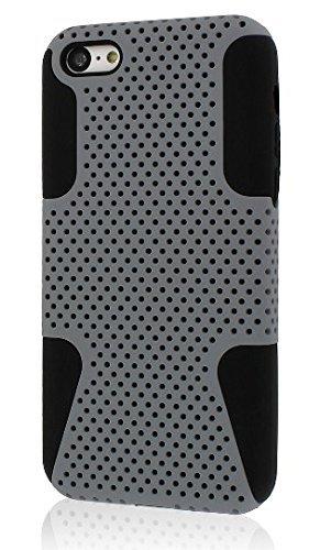 MPERO FUSION M Series Schutz Case Tasche Hülle for Apple iPhone 5C - Grau