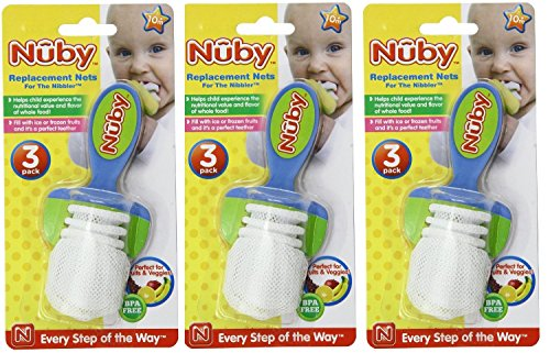 Nuby Pack Replacement Nets Nibbler