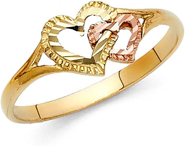 1 abierto tono Antiguo Anillo De Abeja Y Flor con Diamantes de Imitación