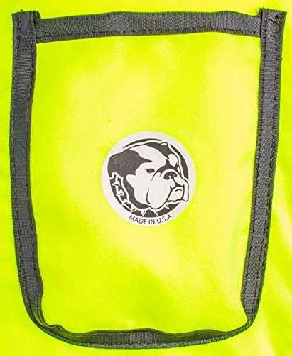 Self Charging High Vis Lime Cooling Vest with Inserts by AllTuffUSA (Image #5)